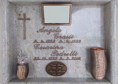Lasta singola Granito Sky Grey Vezzani Collezzione Metropolitan