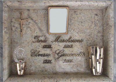 Lastra singola Granito Ivory Brown Caggiati Evolution