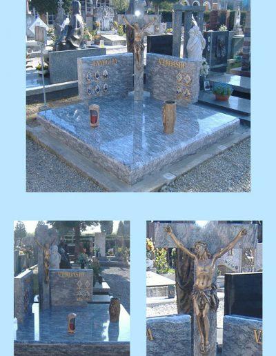 Sacconago croce centrale granito Orissa Blue