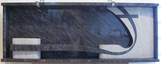 Lastra doppia Granito Vizag Blue