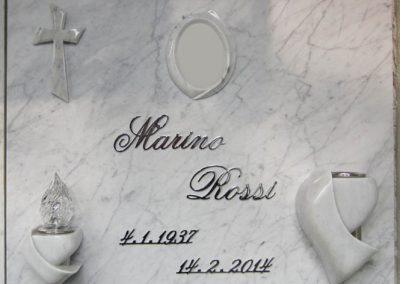Lastra singola Marmo Bianco Carrara Serie AM