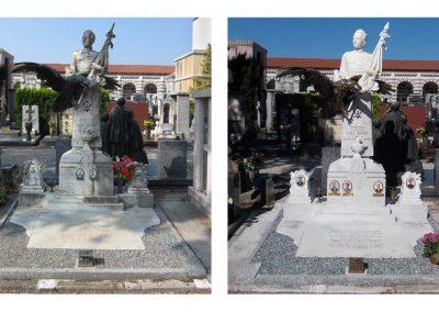 Monumento marmo bianco carrara