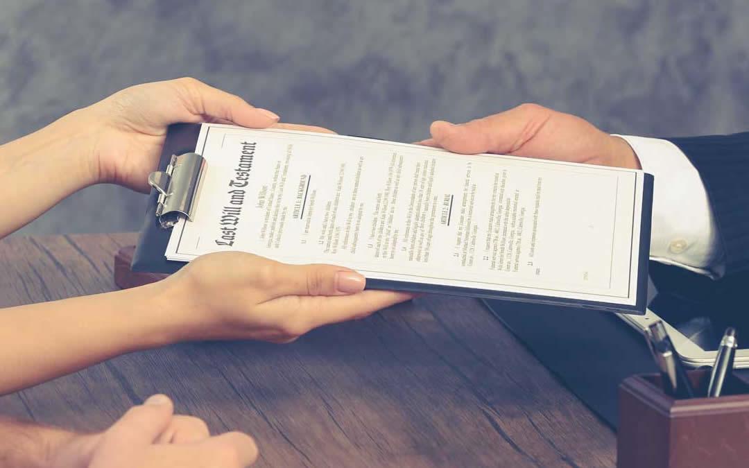 Disposizioni per la raccolta del testamento